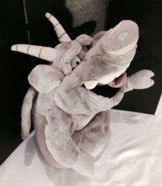"Disney Gargoyle Puppet RARE BIG 21"" Hugo Hunchback of Notre Dame Plush Animal"
