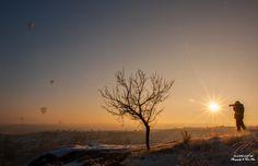 21 Aralık Gündönümü -Yılın En Kısa- Gününde, Güneşin Doğuşuyla Birlikte Bütün Gün Süren Fotoğraf Çekimi