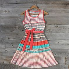 Sweet Grass Dress in Orange...perfect for summer travels