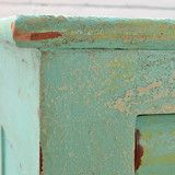 Saltwash is a powder that you can add to any paint to create a unique weathered look on any piece of furniture or surface. Read more about this awesome product in our Blog Post and watch the Saltwash