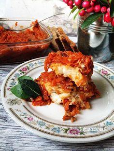 Ryba po grecku z borowikami http://najsmaczniejsze.pl/2015/12/ryba-po-grecku-z-borowikami/ #najsmaczniejsze #przepis #ryba #wigilia #obiad #kolacja