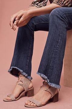Current/Elliott Mid-Rise Flip-Flop Jeans - anthropologie.com