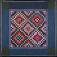 "Philadelphia Museum of Art - Collections Object : Quilt. Philadelphia Pavement."" Amish. Circa 1900."