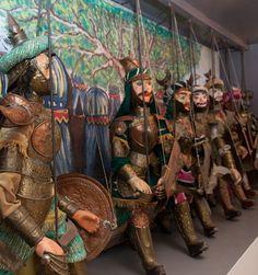 Museum of pupi (Sicilian puppets) in Syracuse | Via della Giudecca 22