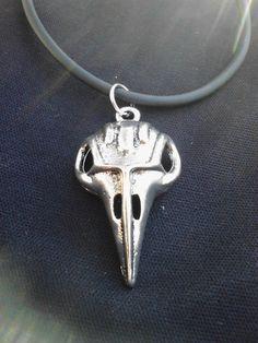 Bellatrix's Bird Skull Necklace