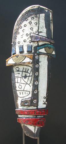 Picasso-esque Clay Masks @Carol Watson and @Jenny Yentzen