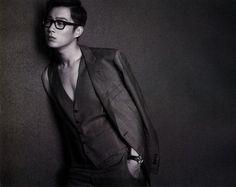BEAST's Yoon Doo Joon Arena Homme+ Korea Magazine July Issue '13