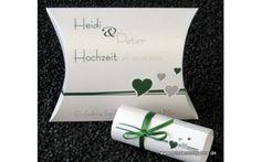 Hochzeitseinladungsbox Herzchen dunkelgrün Box, Cards Against Humanity, Silver Ash, Darkness, Invitations, Wedding, Snare Drum