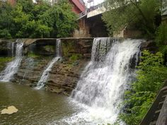 Water level low on the Falls this year