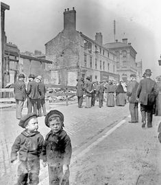 1898 damage in John Street caused by the Havelock House fire. Great Fire Of London, The Great Fire, Victorian Buildings, Victorian Era, Sunderland Echo, Bedford Street, Bishop Auckland, Real Fire, Places Of Interest