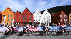 Black on white on colour - TTT Winners Sunweb #cycling #bike #ride #exercise #explore