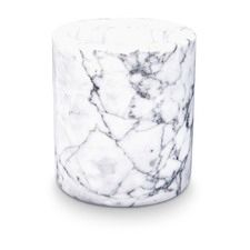 White Natural Marble Canister/Planter