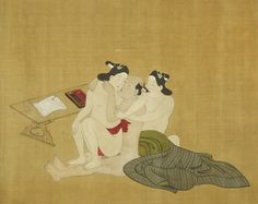 Feast Your Eyes On These Rare Handscrolls Of Japanese Gay Erotica Courtly Love, All Japanese, Vintage Japanese, Ancient Myths, Creators Project, Great Wave Off Kanagawa, Spring Pictures, Sea Monsters, Exotic Birds
