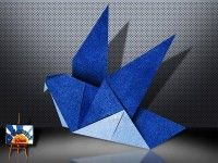 Traditional Origami Pigeon http://eng.origami-kids.com/easy-origami/traditional-paper-pigeon-easy-bird.htm  Read the whole post HERE: Traditional Origami Pigeon  Traditional Origami Pigeon Traditional Origami Pigeon (almost Twitter Bird). This is a one of many origami Bird designs. It is fun for kids but a little difficult. Start with square origami paper. Follow diagrams and video tutorial instructions. This page  Continue reading   The post Traditional Origami Pigeon appeared first on…