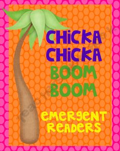 Chicka Chicka Boom Boom   my son is 9 now we still like this one it was his fav. when he was lil.