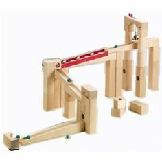Haba Ball Track Construction Set - you can add parts to this to make the ultimate marble track.  One or two parts a year would be great, too.