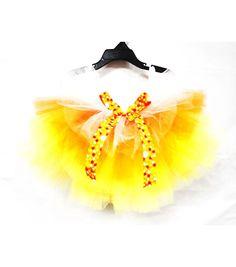 Maker's Halloween Tutu Candy Corn Child