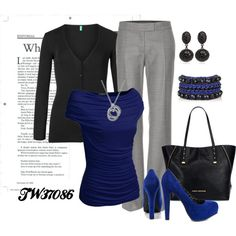 """""""work outfit"""" by tigerwoman37086 on Polyvore"""