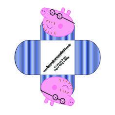 Forminhas Docinhos Papai Pig: