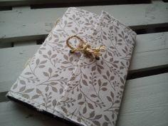 Handmade Paper Notebooks Vintage Shabby Chic Fabric Journal Diary