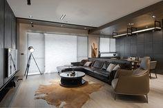 ARMANI CASA调性带来的优雅空间 / 惹雅设计 - 居宅 - 室内设计师网