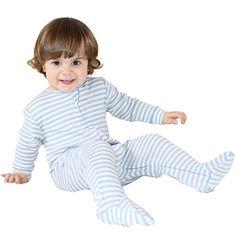 We love Woolino sleep sacks and anticipate getting a Woolino Baby Footie Pajama Sleeper for toddler age. 100% Superfine Merino Wool, 3 Months - 3 Years, Blue