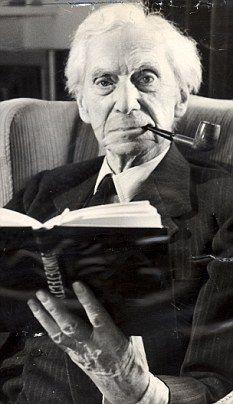 A mediodía del 18 de mayo celebramos y leemos a Bertrand Arthur William Russell, Bertrand Russell (Trellech, 18 de mayo de 1872 - Penrhyndeudraeth, 2 de febrero de 1970)