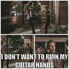 Chris Keller kicks Chase Adams - Ahahahaha! I forgot about this!