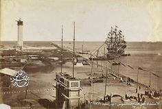's High-definition DVD showing the side of the preparations for the opening ceremony of the Suez Canal city of Port Said November 1869