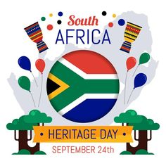 Heritage Day South Africa, African Proverb, Together We Can, Heritage Site, Chicago Cubs Logo, Positive Thoughts, Vector Free, Have Fun, Positivity