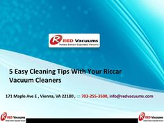 """5 Easy Cleaning Tips With Your Riccar Vacuum Cleaners  >>>> So follow these tips and start cleaning now. For the rest of the things, your very own """"friend, philosopher and guide"""" is there to accompany you in every part of your vacuum cleaning journey right from buying your #Riccarvacuum cleaner, changing its part, servicing it, repairing it and finally moving on with a brand new riccar.  #VacuumFilters   #UprightVacuums"""