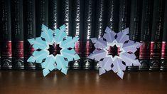 Diy Paper, Paper Crafts, Snow Flakes Diy, Paper Snowflakes, Tissue Paper Crafts, Paper Craft Work, Papercraft, Paper Art And Craft, Paper Crafting