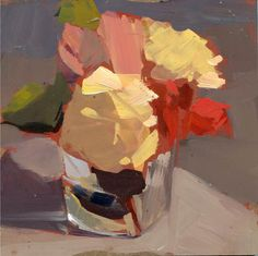 LISA DARIA'S PAINTING A DAY: #1034 Flowers Everywhere