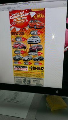 Anuncio prensa Tocars Toyota