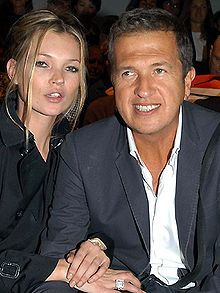 Kate Moss - Moss with Mario Testino in 2007 - Wikipedia, the free encyclopedia