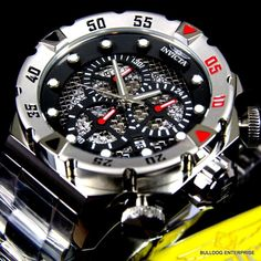 Mens Invicta I Force Chronograph Twisted Metal 19180 Steel Black Watch New | eBay