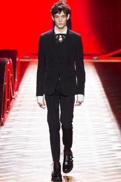 On the catwalk at Dior Autumn-Winter 2016 Men Fashion Show #PFW #RTW #AW16 #Dior #LVMH