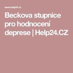 Beckova stupnice pro hodnocení deprese | Help24.CZ