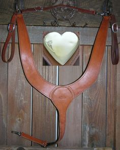how to make a leather breast collar