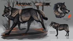 Wolf Brothers Auction: CLOSED by Chickenbusiness on DeviantArt Wolf Character, Wolf Pictures, Wolf Spirit, Anime Wolf, Warrior Cats, I Love Anime, Creature Design, Dog Art, Animal Drawings