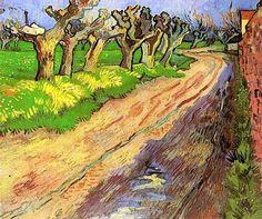 Vincent Van Gogh  Pollard Willows