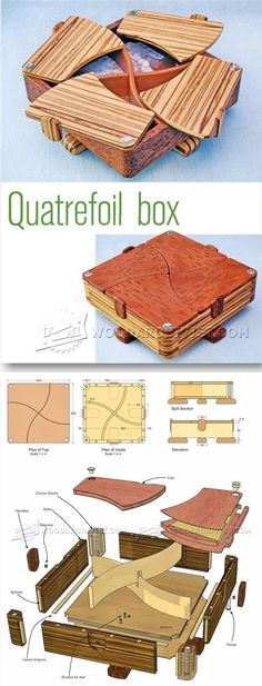 Complex Box Plans - Woodworking Plans and Projects | WoodArchivist.com #woodworkingplans #woodworkingtools