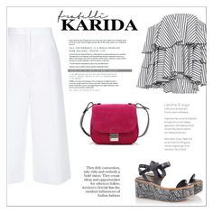 """Fratelli Karida"" by vidrica ❤ liked on Polyvore featuring Robert Clergerie, ESCADA, Caroline Constas, Proenza Schouler, polyvoreeditorial and summersandals"