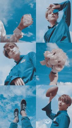 ideas wall paper aesthetic blue taehyung for 2019 Blue Aesthetic, Kpop Aesthetic, V Taehyung, Bts Jungkook, Kpop Backgrounds, Les Bts, Bts Lockscreen, Bts Pictures, Bts Boys