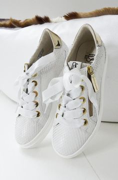 DL Sport - Scarpa Intagliato Bianco - Plain Vanilla AB