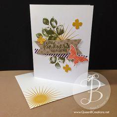 Stampin' Up! Kinda Eclectic handmade card  #stampinup #kindaeclectic #handmadecard