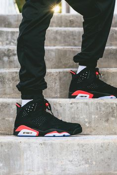 jordan 6 black | Air Jordan 6 Retro Black/Infrared 23