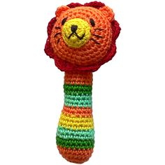 Limobebe - for modern babies :: juguetes & peluches :: sonajero ganchillo animales