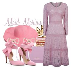 Maid Marian (Robin Hood) by claucrasoda on Polyvore featuring polyvore fashion style WithChic Kate Spade Adolfo Courrier Ted Baker clothing rosegold