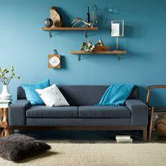 9 Inspiring Blue Rooms   west elm